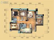 鹭洲国际二期4室2厅2卫98--114平方米户型图