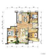 绿地国际花都3室2厅1卫0平方米户型图
