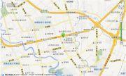 蓝光空港国际城交通图