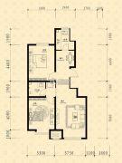 中东凯悦公馆2室2厅1卫84--89平方米户型图
