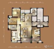 祥生城市之星4室2厅2卫0平方米户型图