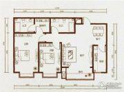 东河壹品2室2厅2卫0平方米户型图