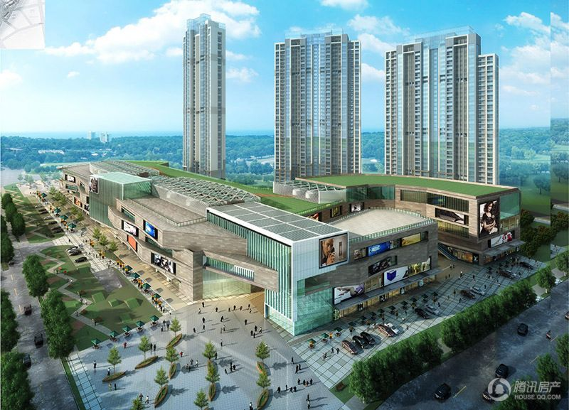 购物中心鸟瞰图(2013.12.19)