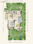 奥园国际城2室2厅2卫0平方米户型图