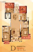 宝格丽公馆5室2厅2卫139--158平方米户型图