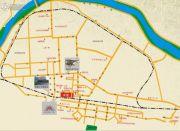 鸿安国际广场交通图