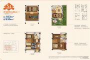 首创旭辉城3室2厅3卫0平方米户型图