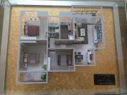 楚荣・首府3室2厅1卫105平方米户型图