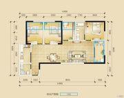 瑞鼎城4室2厅2卫123平方米户型图