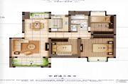 橡树城3室2厅1卫103平方米户型图