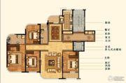 明秀庄园4室2厅2卫200平方米户型图