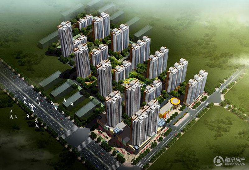 中州花都建筑效果图