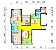 恒大御景半岛5室2厅2卫163平方米户型图
