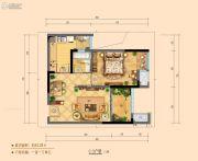 华融现代城1室1厅1卫0平方米户型图