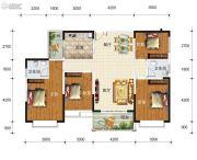 华东七里香(迎龙苑2期)4室2厅2卫139平方米户型图