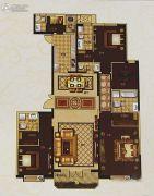 城关万达广场4室2厅4卫255平方米户型图