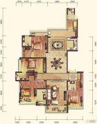 雅居乐・御宾府4室3厅4卫301平方米户型图