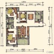 宝安江南城3室2厅2卫138平方米户型图