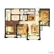 城置御水华庭3室2厅2卫0平方米户型图