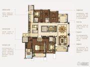 石湖天玺5室2厅5卫355平方米户型图
