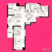 骏丰玲珑坊3室2厅2卫0平方米户型图