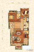 北京城建龙樾湾3室1厅3卫233平方米户型图