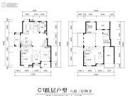 江南名苑6室2厅4卫223平方米户型图