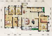 泛宇惠港新城5室3厅3卫209平方米户型图