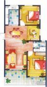 上书房3室2厅1卫108平方米户型图
