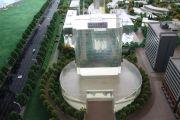 河北工业大学科技园(沧州)园区沙盘图