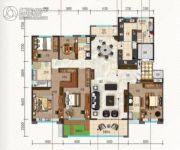 碧桂园・珑悦6室2厅4卫260平方米户型图