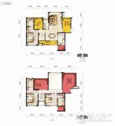 保利凤凰湾3室2厅4卫0平方米户型图