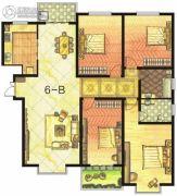 东方明珠4室2厅2卫190平方米户型图