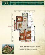 金色阳光花园3室2厅2卫132平方米户型图