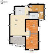 捷恒・悦城2室0厅1卫73平方米户型图