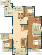 深业世纪新城4室2厅2卫169平方米户型图
