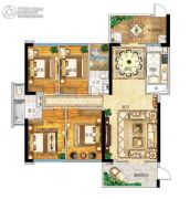 帝�Z苑4室2厅2卫154平方米户型图