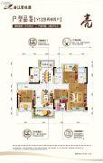 曲江碧桂园4室2厅2卫129平方米户型图