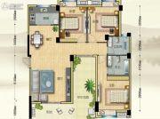 博大江山如画二期3室2厅2卫135--136平方米户型图