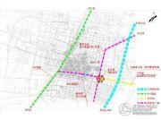 绿墅蓝湾交通图