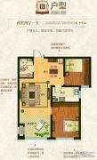 奥北公元2室2厅1卫0平方米户型图