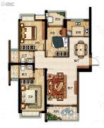 滨江熙岸3室2厅2卫124平方米户型图