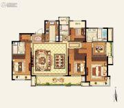 玉环新城吾悦广场4室2厅3卫189平方米户型图
