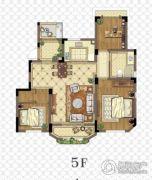 金浦御龙湾3室2厅2卫100平方米户型图