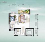 吉蔚苑1室1厅1卫0平方米户型图