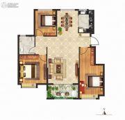 立成・桃源艺境3室2厅1卫112平方米户型图