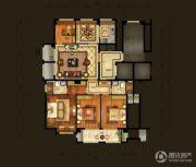 金梁・臻园4室2厅2卫141平方米户型图