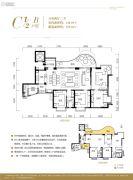 皇冠国际5室2厅3卫148平方米户型图