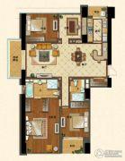 苏宁广场4室2厅2卫230平方米户型图
