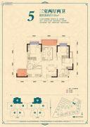 恒大香山华府3室2厅2卫0平方米户型图